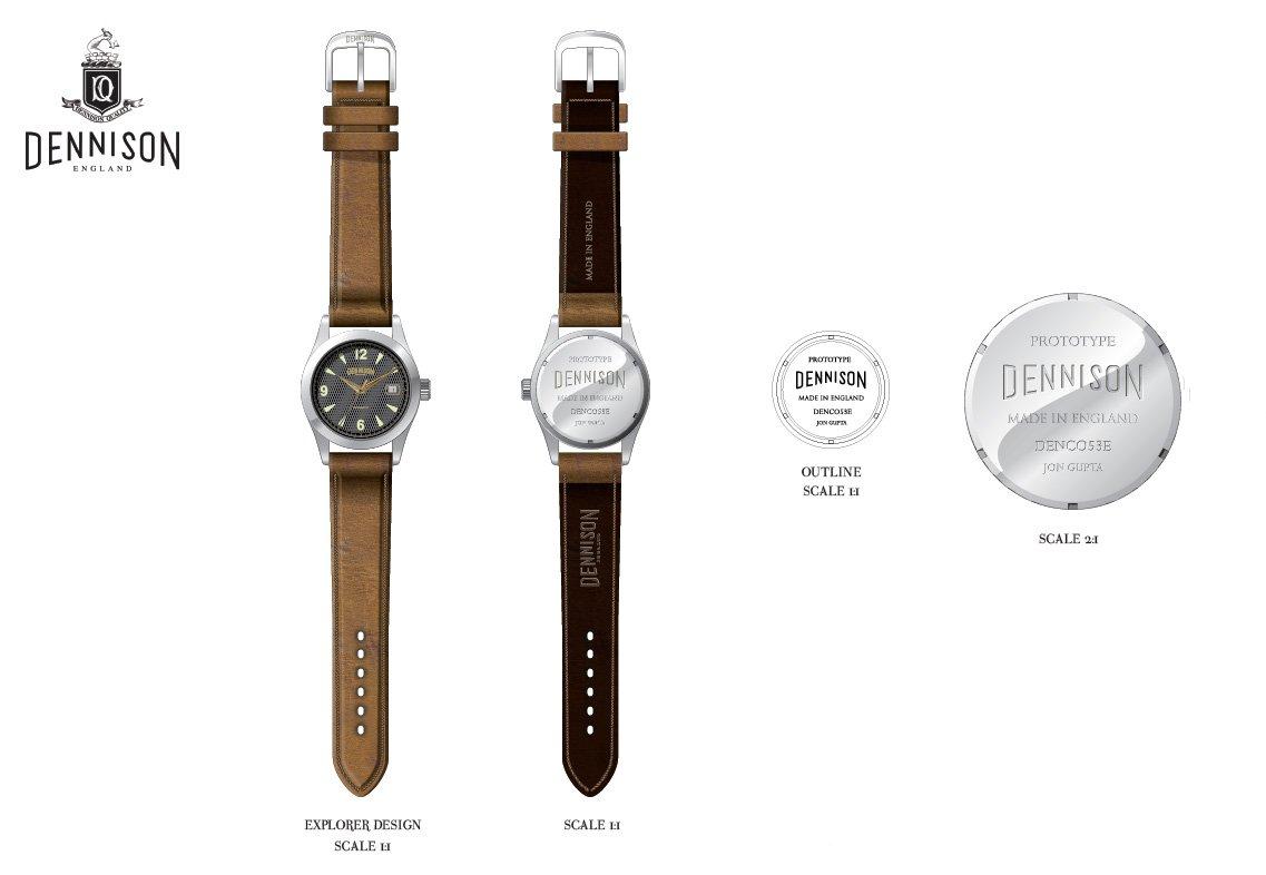 Dennison Concept watch